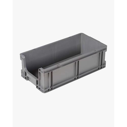 Armoire de bureau basse - 2 tablettes